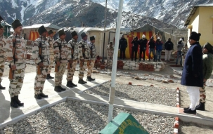 News Nation Exclusive: ITBP jawans  in Nelong post at Indo-China border