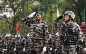 Indian Army conducts military exercise at Indo-Pak border near Rajasthan's Bikaner