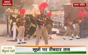 Republic Day: Flag War at Wagah border during beating retreat ceremony