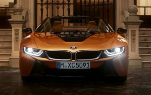 Auto Expo 2018   BMW unveils hybrid car i8 Roadster in India