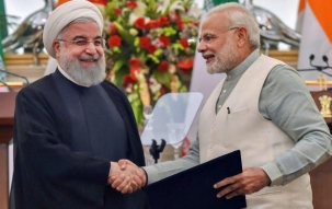 Nation Reporter: PM Narendra Modi and Iran's President Hassan Rouhani sign nine crucial pacts
