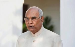 AMU students protest against President Kovind's visit