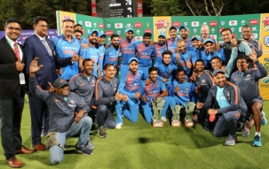 Stadium: India end South Africa tour on high by clinching T20 series