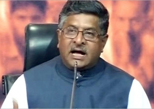 Cabinet Minister Ravi Shankar Prasad lashed out at Congress and Left  after Election Results