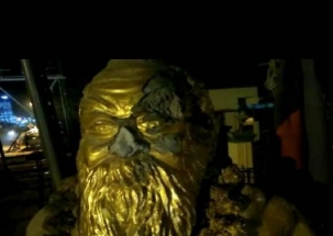 Periyar statue vandalised in Vellore municipal office