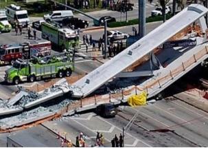 Super 50: Four killed as foot over bridge collapse in Florida's Miami