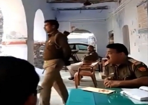 Ghazipur police office Arun Kumar Rai suspended after abusive viral video