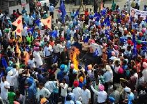 Bharat Bandh: Dalit stir turns violent in UP, MP