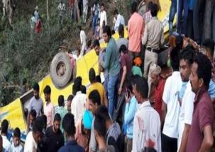 Himachal Pradesh: 29 students die after school bus falls into gorge in Kangra