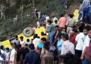 30 dead, including 27 children as school bus plunges into gorge