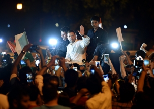 Rahul Gandhi leads midnight candlelight march at India Gate over Unnao, Kathua rape cases