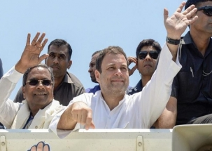 Karnataka Assembly Polls: Rahul Gandhi releases Congress manifesto, promises 1 crore jobs