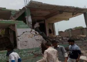 Blast inside firecracker factory in Lucknow, two feared dead