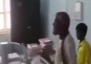 Karnataka: A man seeking pension brought cobra inside Tehsildar office in Gadag