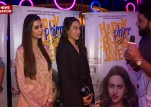 NN Exclusive | Sonakshi Sinha, Diana Penty, Jassi Gill share their experience from Happy Phirr Bhag Jayegi