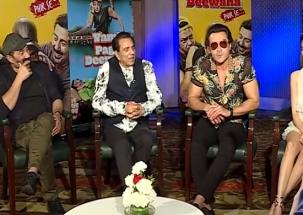 Yamla Pagla Deewana Phir Se: Sunny, Bobby, Dharmendra and Kriti Kharbanda promotes the upcoming film
