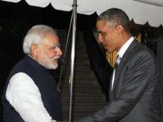 This is how Obama hosted dinner for Modi