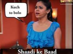 Husband-Wife jokes from Comedy Nights with Kapil