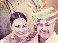 Sonakshi Sinha at brother's wedding!