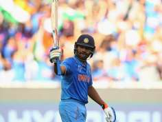 Rohit Sharma's glorious moment after hitting ton