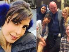 Priyanka Chopra's last day at Quantico in NYC