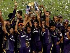 Winners of Indian Premier League