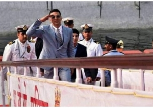 Congress accuses PM Modi of taking 'Canadian' Akshay on INS Sumitra