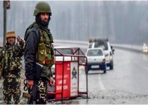 Terrorists, security forces exchange fire in Handwara village