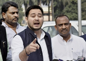 RJD leader Tejashwi Yadav says, 'even LJP isn't happy with Modiji'