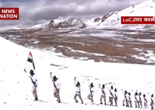 Watch: At 13,000 feet altitude, soldiers brave bone-chilling weather