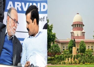Delhi CM Vs LG: SC refers services to larger bench, watch full details