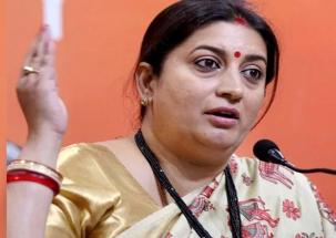 Smriti Irani takes a dig at Rahul Gandhi over minimum income scheme