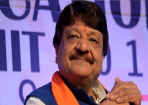 BJP's Kailash Vijayvargiya receives a rousing welcome in Kolkata