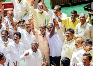 Amid trust vote, Congress, BJP trade charges in Karnataka Assembly