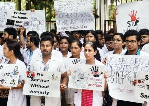 'Ensure our safety, apology not needed': Kolkata doctors to CM Mamata