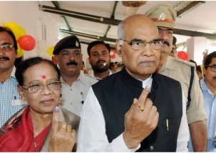 Lok Sabha Election: President Ram Nath Kovind casts his vote