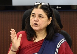 Challenges come in every election: Maneka Gandhi on SP-BSP alliance