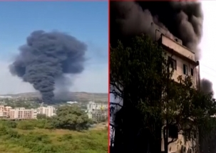 Maharashtra: Four injured in chemical factory fire incident in Thane