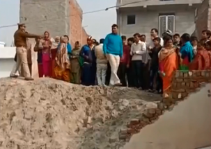School wall collapses in Noida's Salarpur village, two children killed