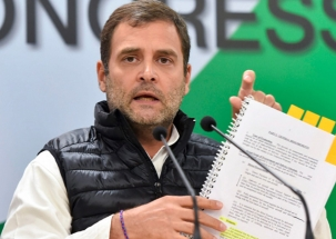Modi acting as middleman for private company: Rahul Gandhi on Rajale