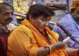 Sadhvi Pragya takes U-turn on Godse remarks, says I respect Gandhi ji