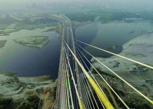 Signature Bridge to provide a panoramic view of Delhi