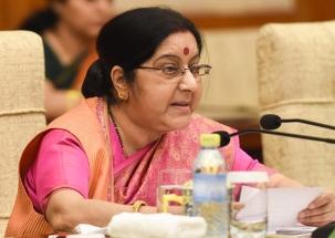 We don't wish escalation, IAF air strike wasn't a military op: Swaraj