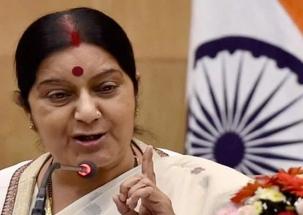If Imran Khan is so liberal, he should handover Azhar to India: Swaraj