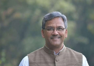 Uttarakhand Chief Minister Trivendra Singh Rawat casts his vote