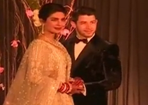 Priyanka Chopra, Nick Jonas host wedding reception in Delhi