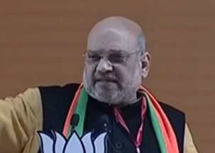 Parties coming together for the sake of power, says BJP president Amit Shah