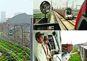 Delhi Metro's Pink Line to chug from October 31