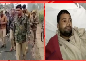 Encounter breaks out between police and gangsters in Sambhal