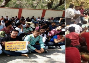 UP: Assistant teachers' applicants stage protest, causes traffic snarls in Lucknow